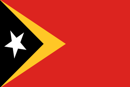 east-timor flag