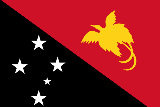 papaua new guinea flag
